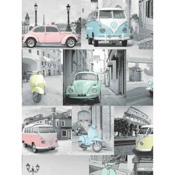 Volkswagen Színes Tapéta