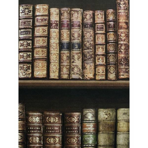 Antik Könyv Mintás Tapéta