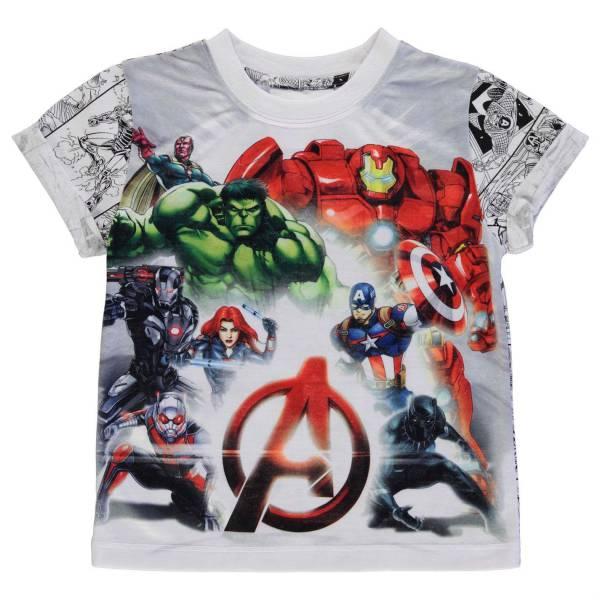 Marvel Pattern Kids T-Shirt