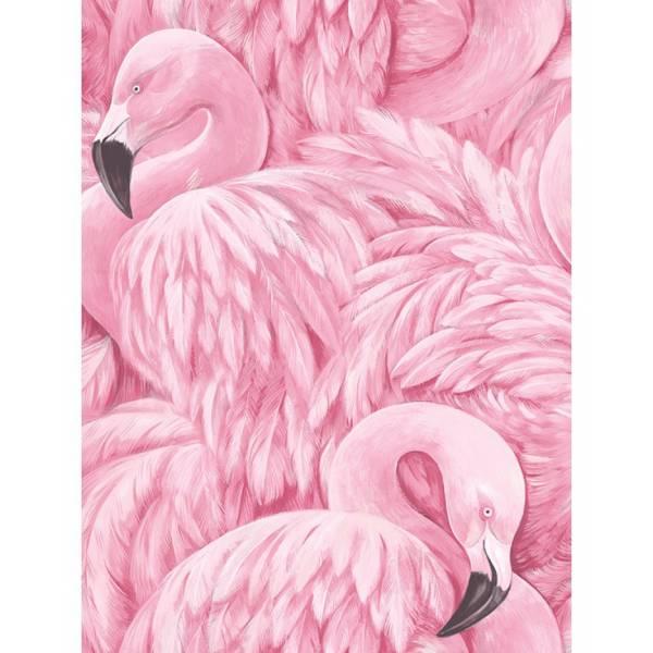Flamingó mintás -Tapéták