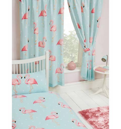 Flamingós Függöny