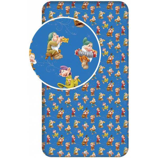 Snow White And Dwarfs Rubber Sheet