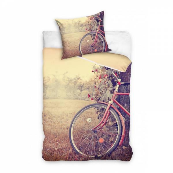 Kerékpár Mintás Ágynemű