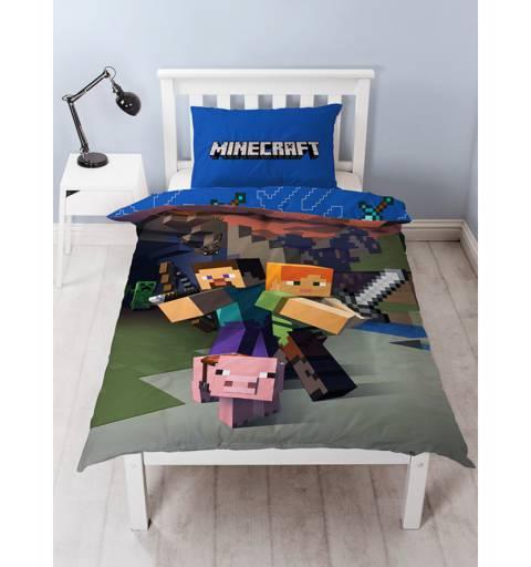 Minecraft Pamut Ágynemű