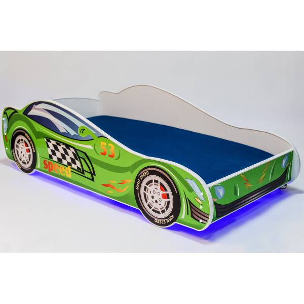 Speed Car Világítós Gyerek Ágy