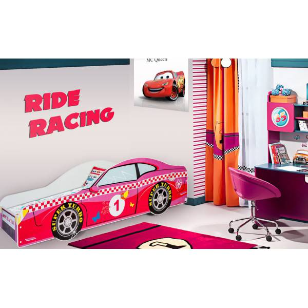 Pink Car Gyerek Ágy