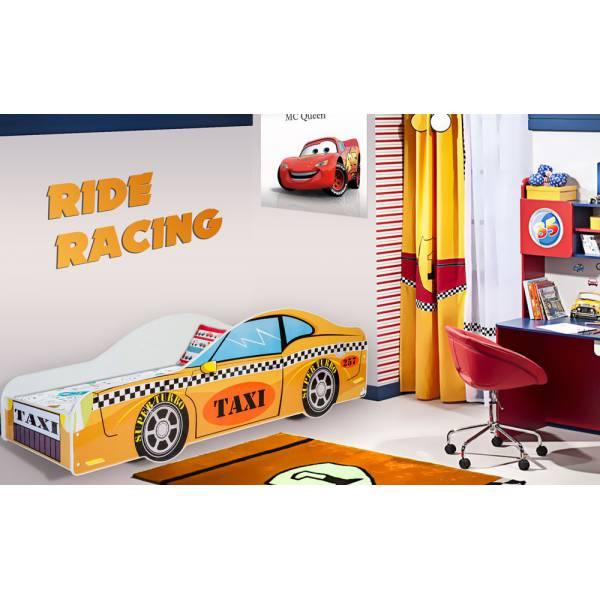 Yellow Car Gyerek Ágy