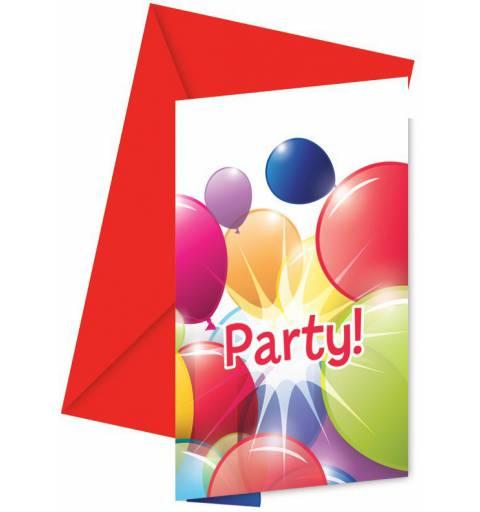 Parti Meghívó Borítékkal