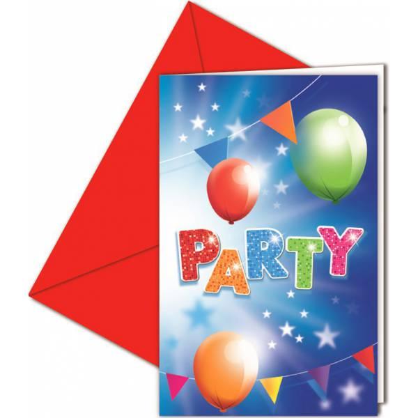Lufis Parti Meghívó Borítékkal