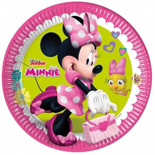 Minnie Mouse Papírtányér 8 db