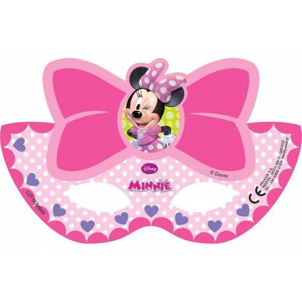 Disney Minnie  Álarc 6 db-os