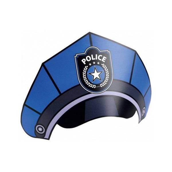 Rendőr-Police Parti Kalap