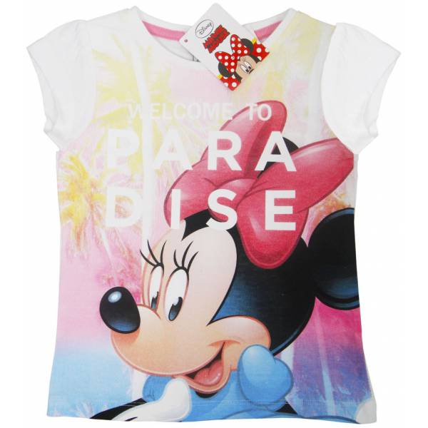 Minnie Mouse Girl Happy T-shirt