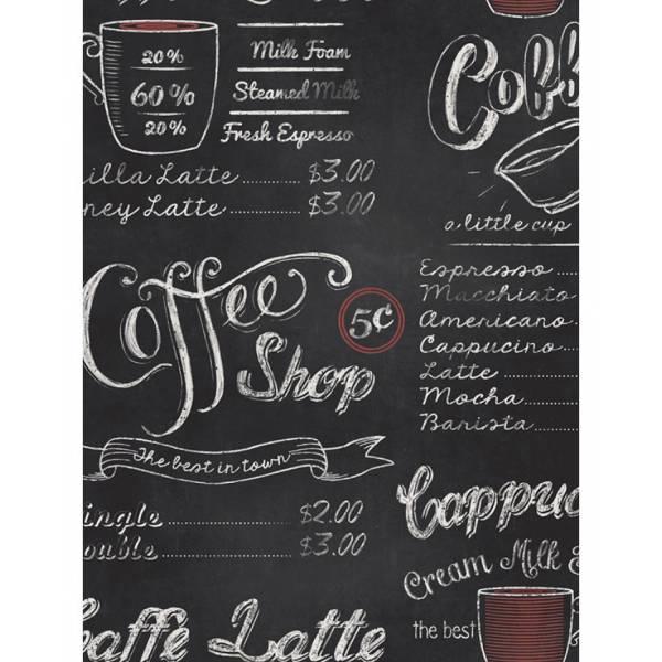 Kávézó és Iskola Tábla Tapéta