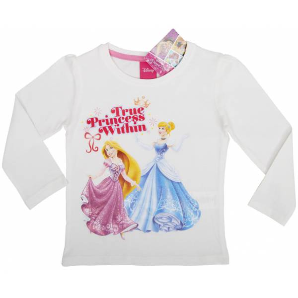 Disney Hercegnő Fehér Pulóver
