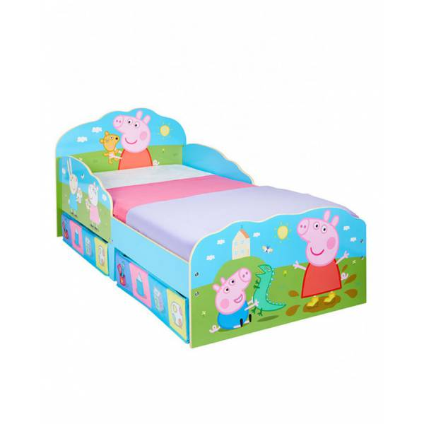 Peppa Pig Toddler Bed with Storage d64d88c62f