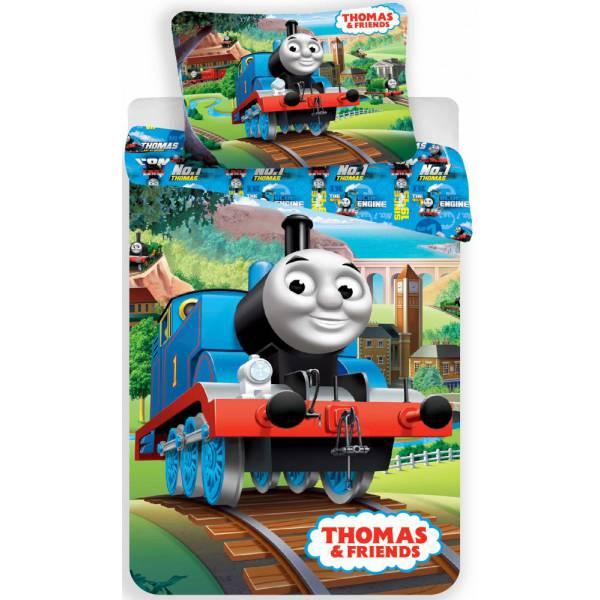 Thomas a Tűzoltó Pamut  Ágynemű