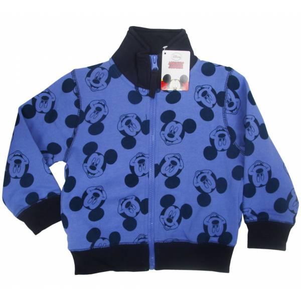 Mickey Mouse Cipzáras Kék Pulóver c6632d23a9