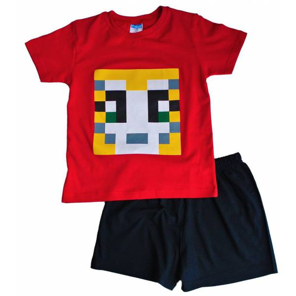 Minecraft Piros Pizsama f53e624f29