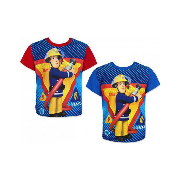 Sam Fireman - Kid Blue T-shirt