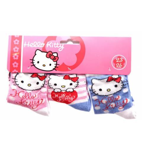 Hello Kitty Pöttyös Zokni Szett
