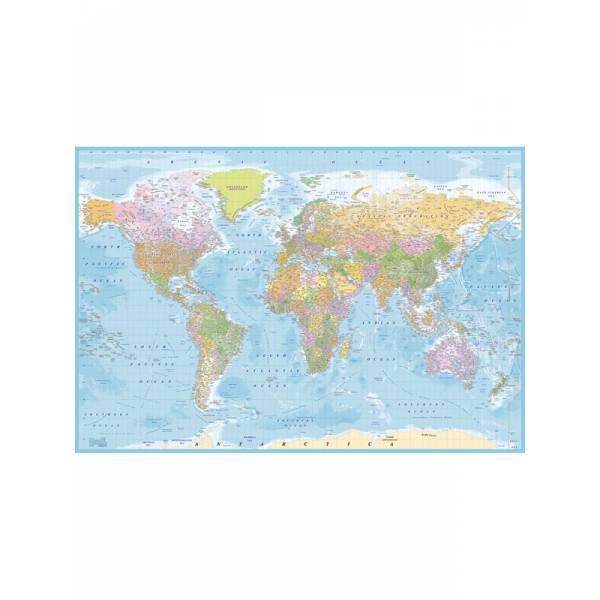 Falfestmény-Világtérkép