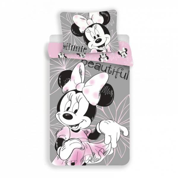 Minnie Mouse Flower Bedding
