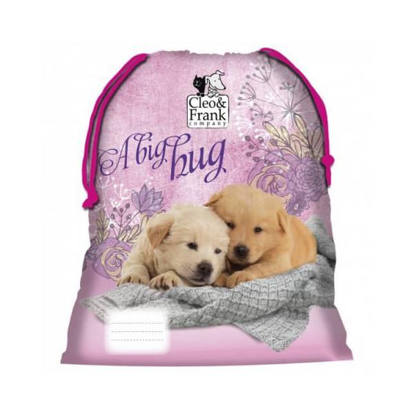 Dog Pink Gymnastics Bag