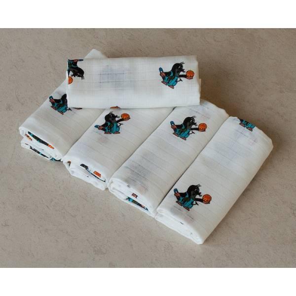 Little Mole 5 ps Textile Diaper