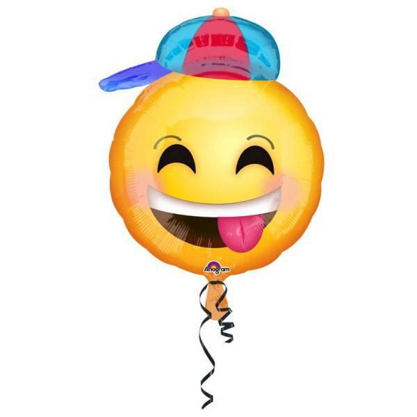 Emoji Fólia Lufi 42 cm