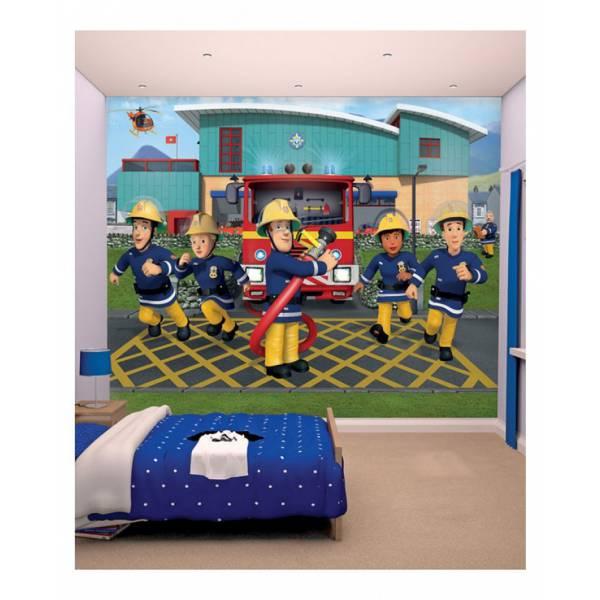 Fireman Sam - Mural