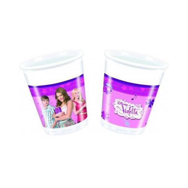 Disney Violet Plastic Cup