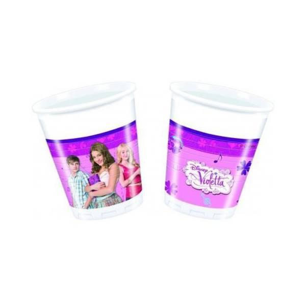 Disney Violetta Műanyag Pohár