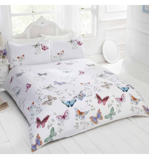 Pink Butterfly Bedding