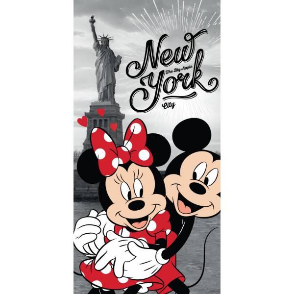 Minnie és Mickey New York Törölköző