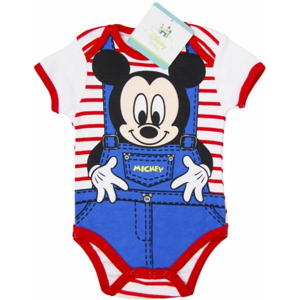 Mickey Mouse Csíkos Rugdalózó