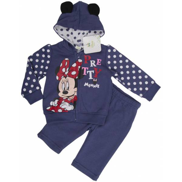 Minnie Mouse 3 Part Baby Coveralls