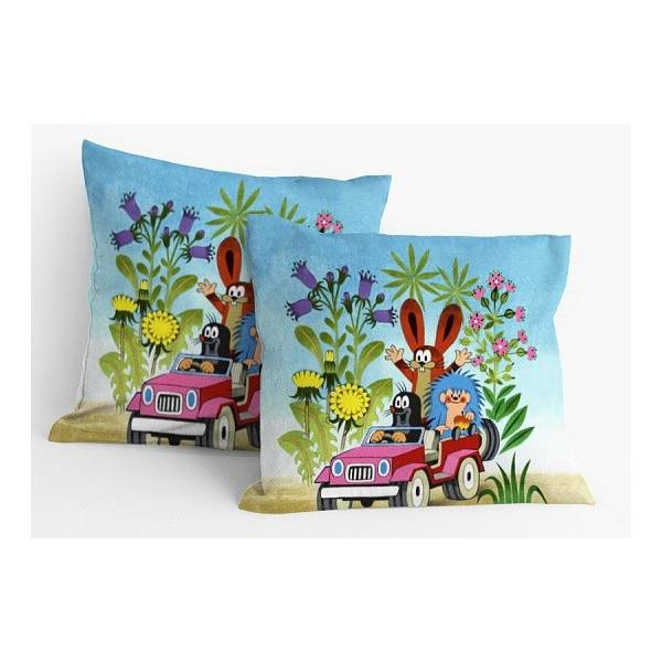 Little Mole - Car Pillow or Pillowcase