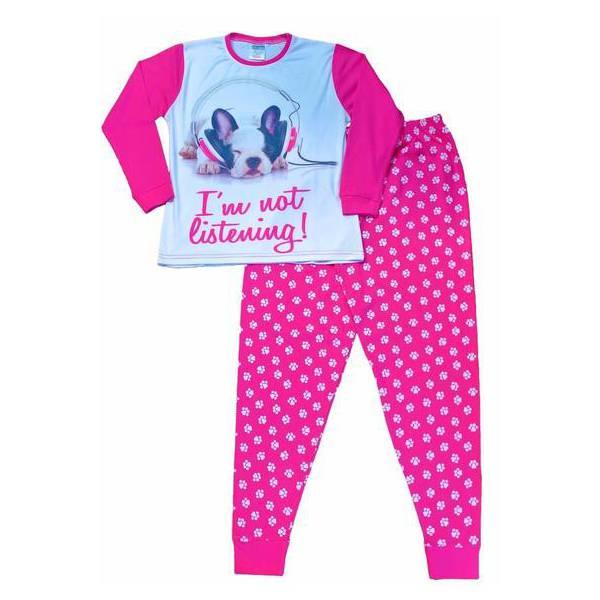 Kutyás Rózsaszín Pizsama