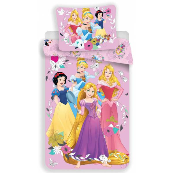 Disney Hercegnő Pamut Ágynemű
