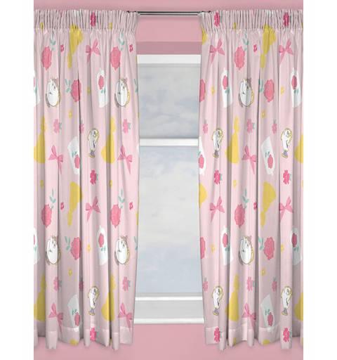 Disney Princess Pink Curtain