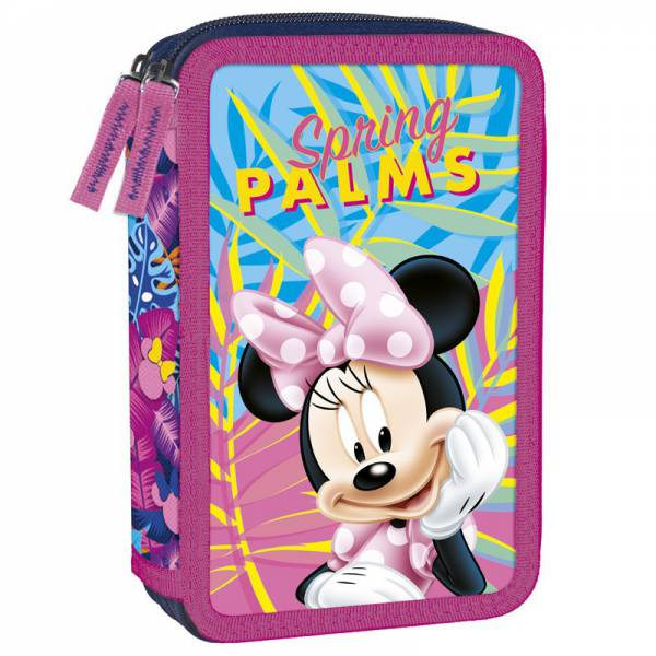Minnie Mouse- Pencil Case 2 Storage