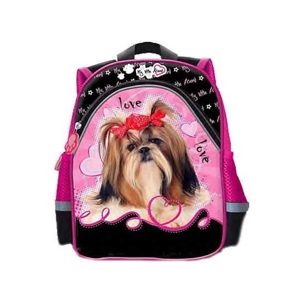 Dog Pink Kindergarten Backpack