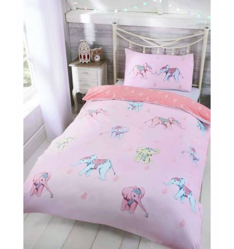 Blue Elephant Bedding