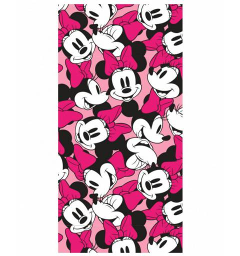 Minnie Mouse Pink Towel