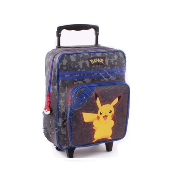 Pokemon Gurulós Bőrönd