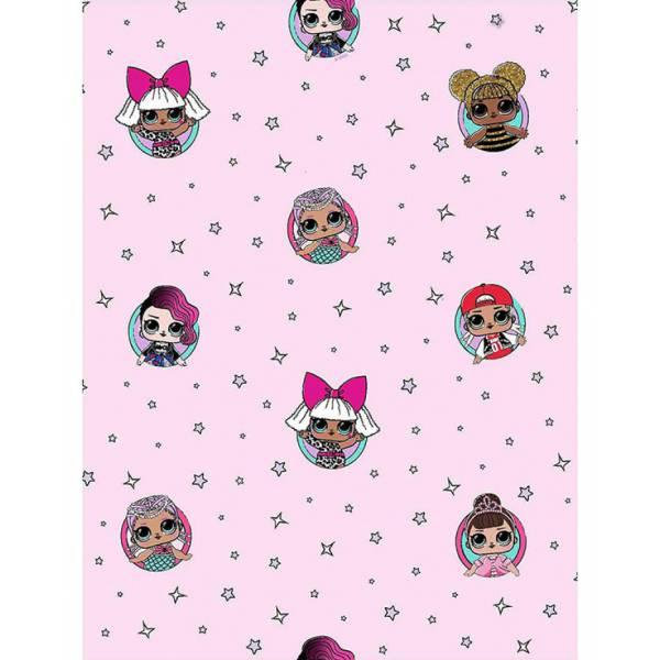 Frozen Pink Pompa Wallpaper