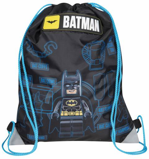 Batman - Black Gym Bag