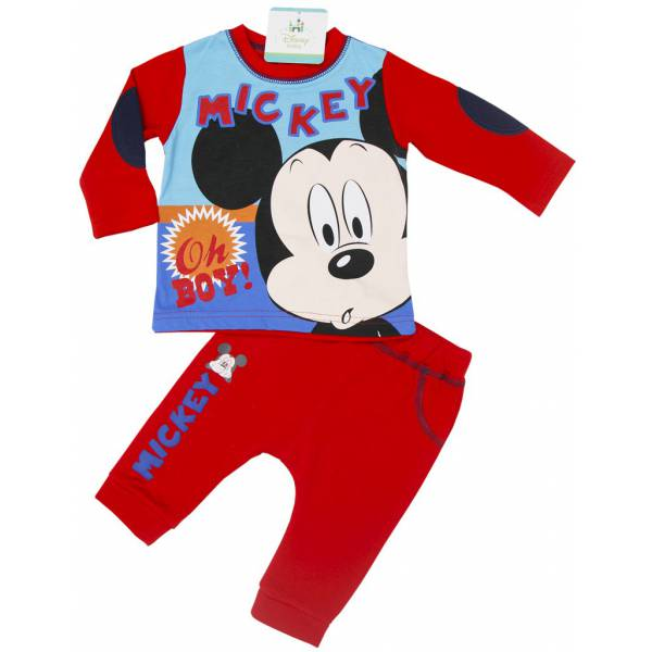 Micky Mouse 3 Piece Baby Coveralls