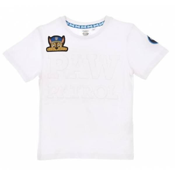 Mancs Őrjárat Chase Fehér Póló